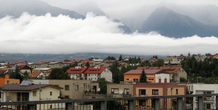 Tatras on a rainy day